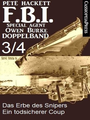 cover image of FBI Special Agent Owen Burke Folge 3/4--Doppelband