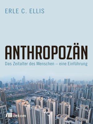 cover image of Anthropozän