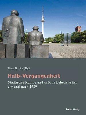 cover image of Halb-Vergangenheit