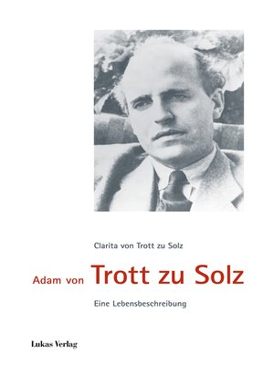 cover image of Adam von Trott zu Solz