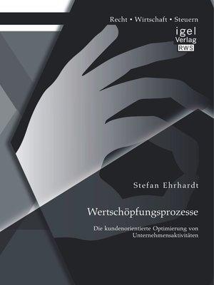 cover image of Wertschöpfungsprozesse