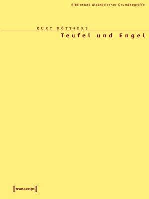 cover image of Teufel und Engel