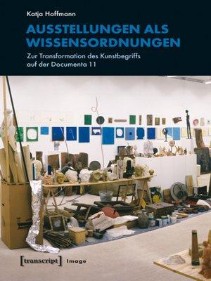 cover image of Ausstellungen als Wissensordnungen