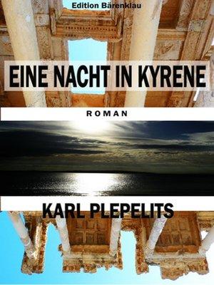 cover image of Eine Nacht in Kyrene