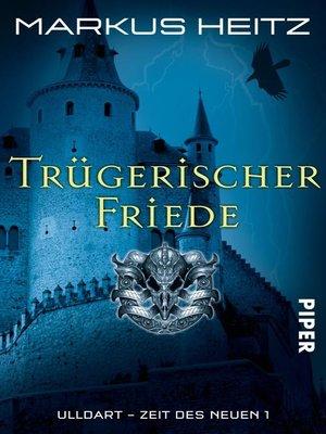 cover image of Trügerischer Friede