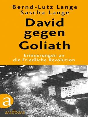 cover image of David gegen Goliath