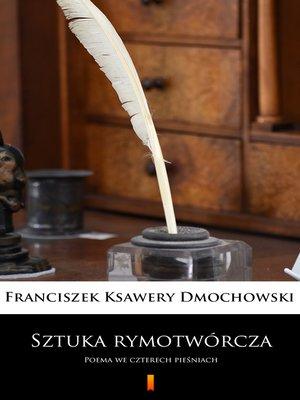 cover image of Sztuka rymotwórcza