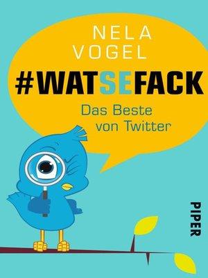 cover image of WAT SE FACK