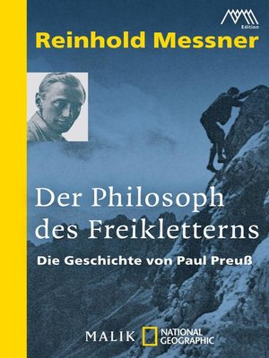 cover image of Der Philosoph des Freikletterns