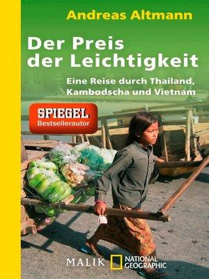 cover image of Der Preis der Leichtigkeit
