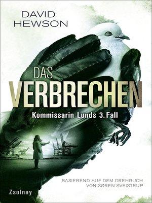 cover image of Das Verbrechen (The Killing 3)