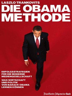 cover image of Die Obama-Methode