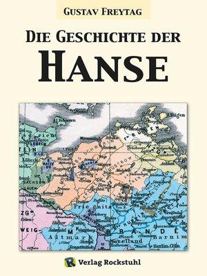 cover image of Die Geschichte der Hanse