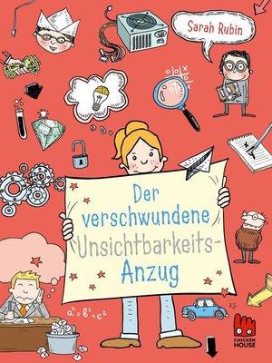 cover image of Der verschwundene Unsichtbarkeitsanzug