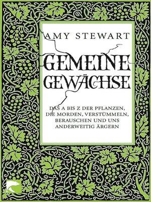 cover image of Gemeine Gewächse
