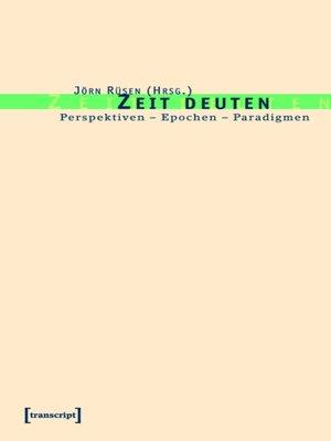 cover image of Zeit deuten