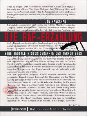 cover image of Die RAF-Erzählung