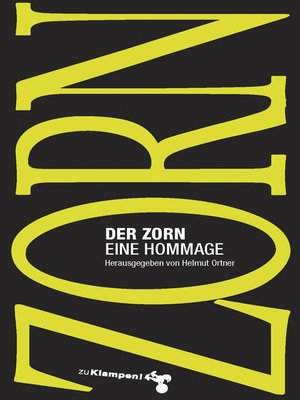 cover image of Der Zorn
