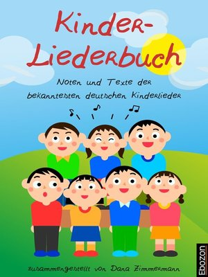 cover image of Kinder-Liederbuch