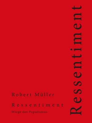 cover image of Ressentiment