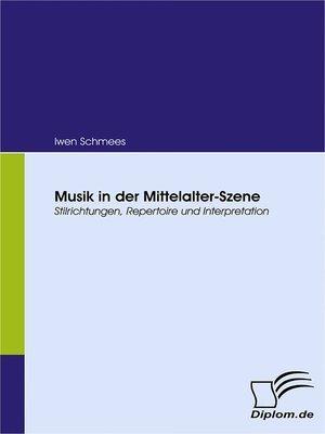 cover image of Musik in der Mittelalter-Szene