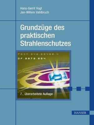 cover image of Grundzüge des praktischen Strahlenschutzes