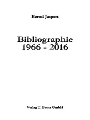 cover image of Bibliographie 1966-2016