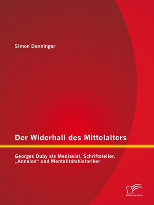 cover image of Der Widerhall des Mittelalters