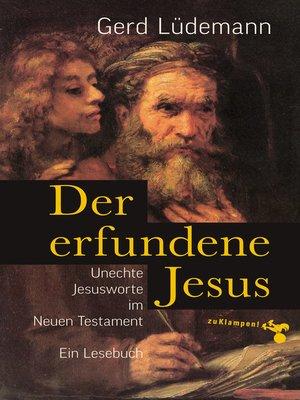 cover image of Der erfundene Jesus