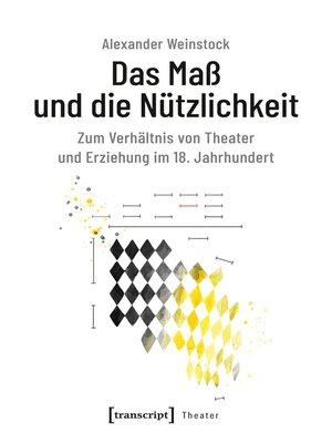 cover image of Das Maß und die Nützlichkeit