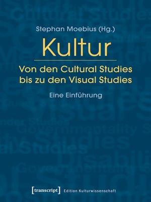 cover image of Kultur. Von den Cultural Studies bis zu den Visual Studies