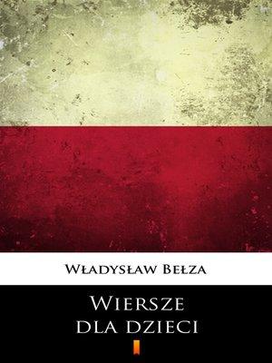 cover image of Wiersze dla dzieci