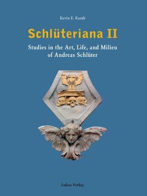 cover image of Schlüteriana / Schlüteriana II
