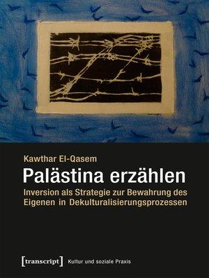 cover image of Palästina erzählen
