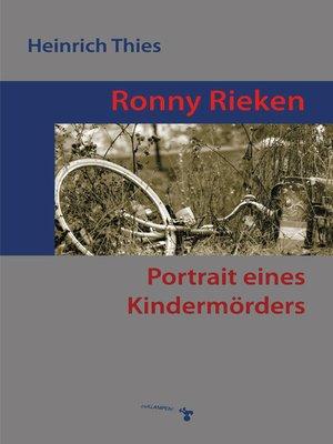 cover image of Ronny Rieken