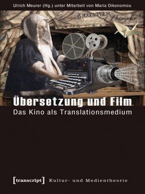 cover image of Übersetzung und Film