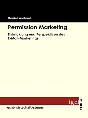 cover image of Permission Marketing