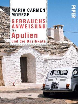 cover image of Gebrauchsanweisung für Apulien und die Basilikata