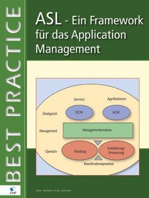 cover image of ASL – Ein Framework für das Application Management