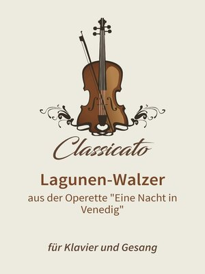 cover image of Lagunen-Walzer