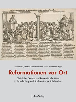 cover image of Reformationen vor Ort