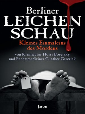 cover image of Berliner Leichenschau