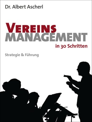 cover image of Vereinsmanagement in 30 Schritten