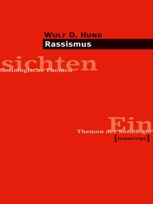 cover image of Rassismus