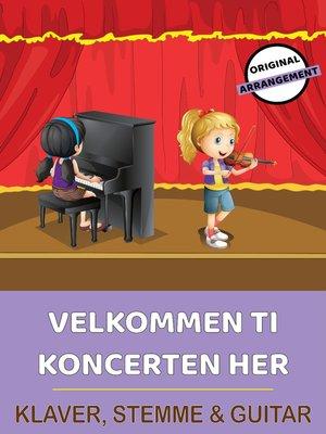 cover image of Velkommen Til Koncerten Her