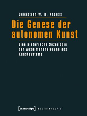 cover image of Die Genese der autonomen Kunst