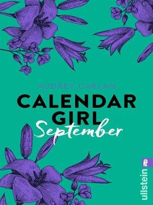 cover image of Calendar Girl September