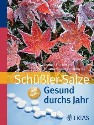 cover image of Gesund durchs Jahr mit Schüßler-Salzen