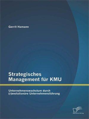 cover image of Strategisches Management für KMU