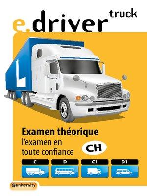 cover image of e.driver truck